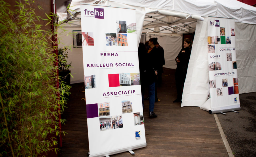 Freha bailleur social associatif , membre du mouvement Emmaüs