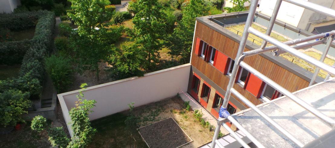 Construction d'un accueil de jour et d'une pension de famille à Pantin